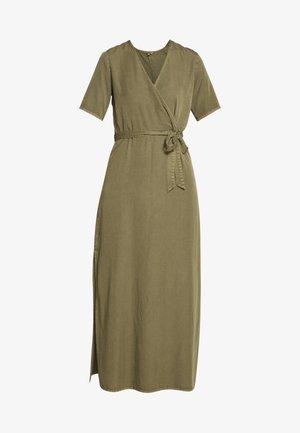 SEMIRA - Korte jurk - military olive