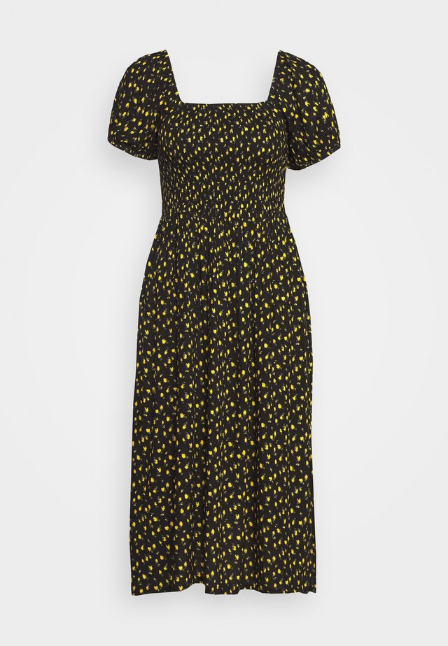 RINDA - Korte jurk - joyce yellow
