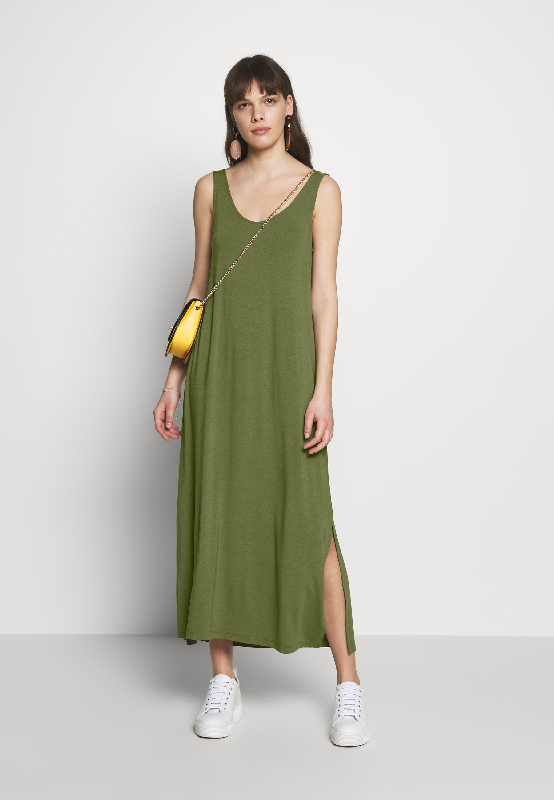 mbyM TESLA - Vestito lungo - olive