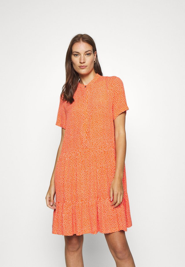 LECIA - Shirt dress - orange
