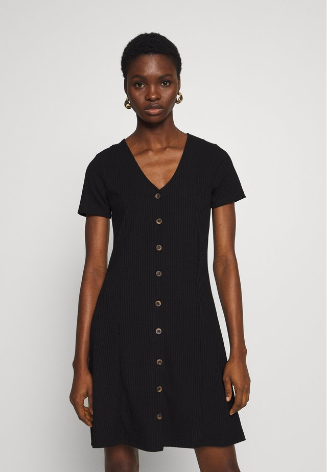 CARCEL - Day dress - black