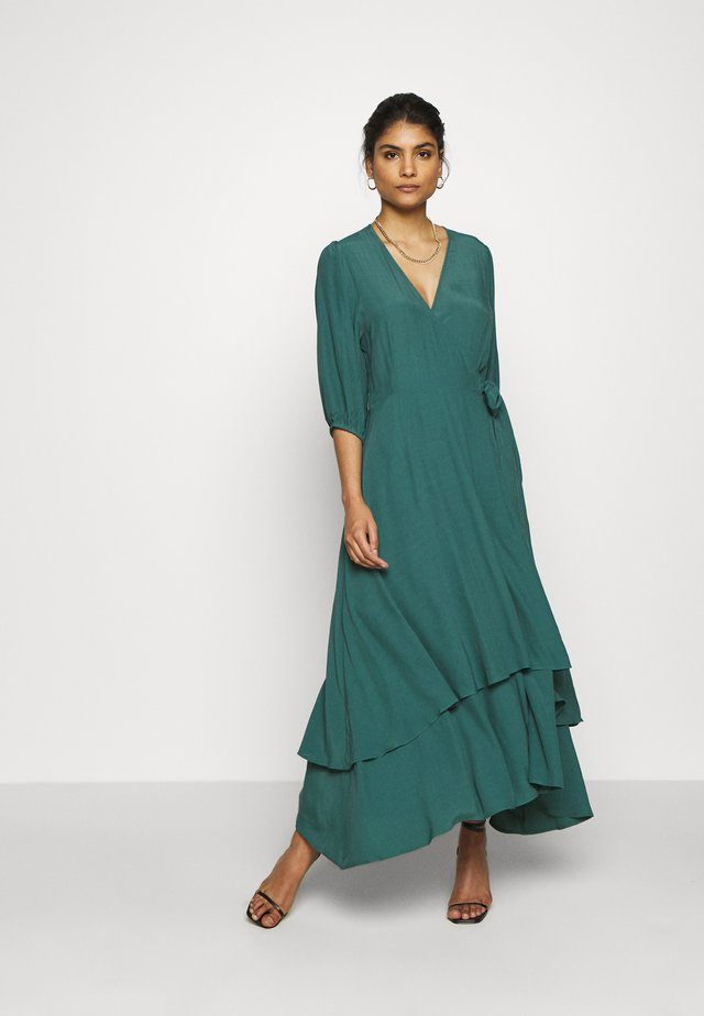 BIBBI - Robe longue - mallard green