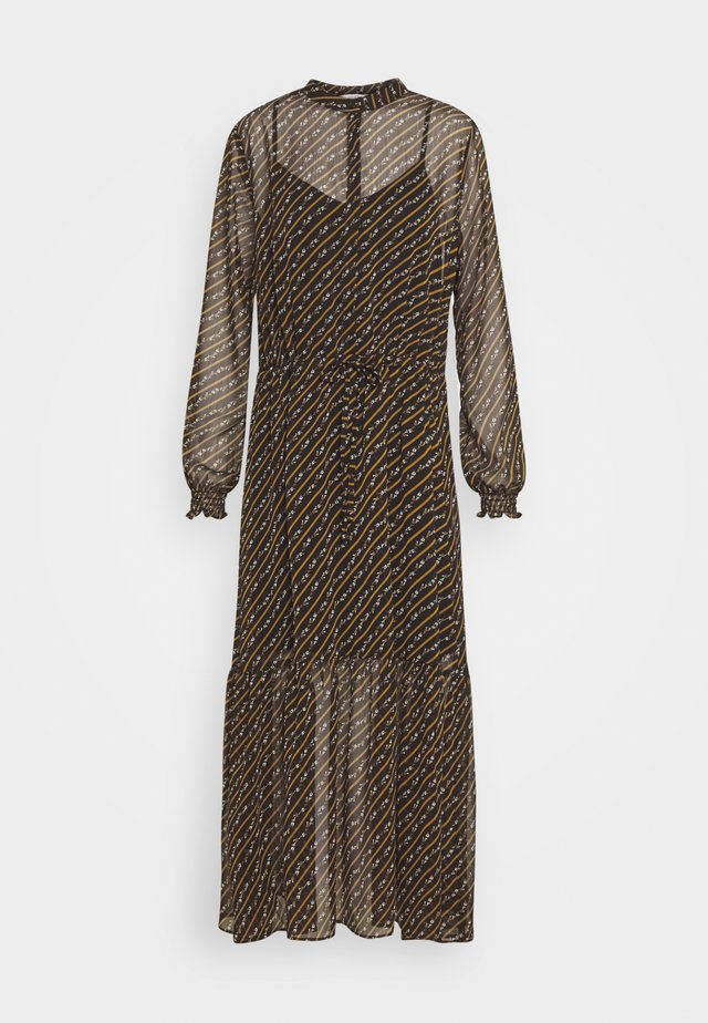DIAZ - Robe longue - black