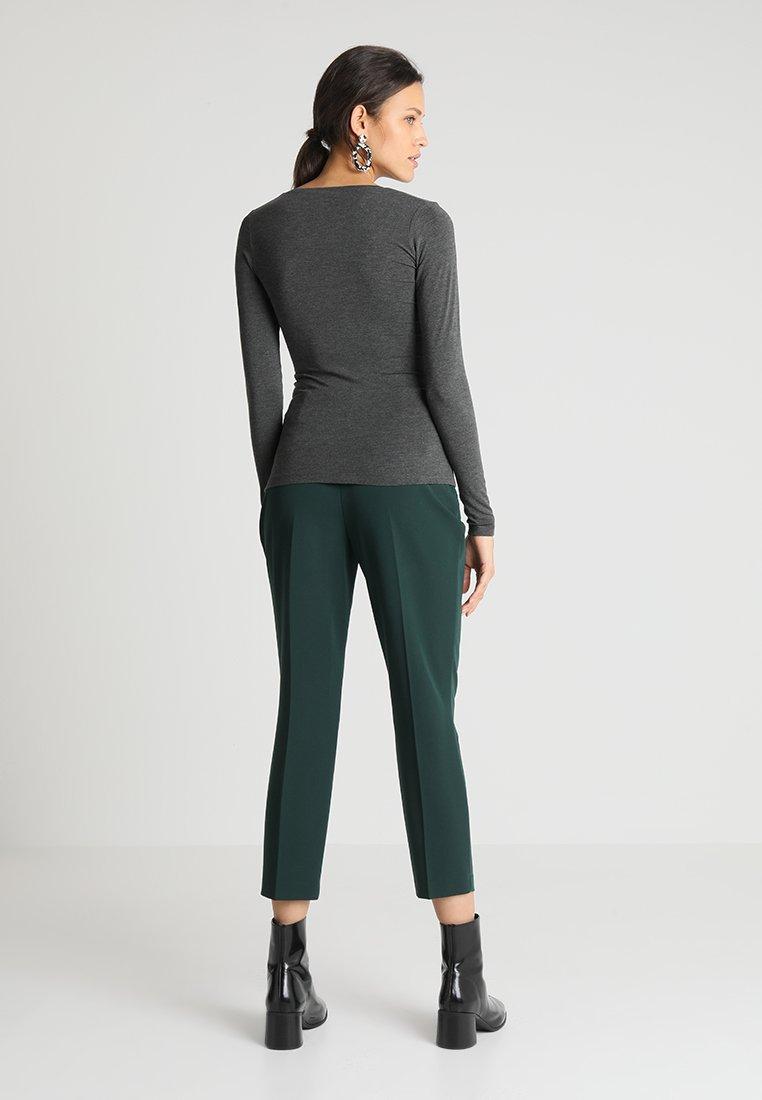 mbyM VANNA - Maglietta a manica lunga - dark grey melange gOZSRBh1