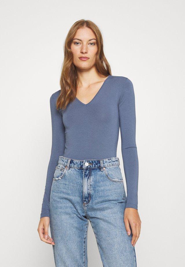 VANNA - Bluzka z długim rękawem - vintage indigo
