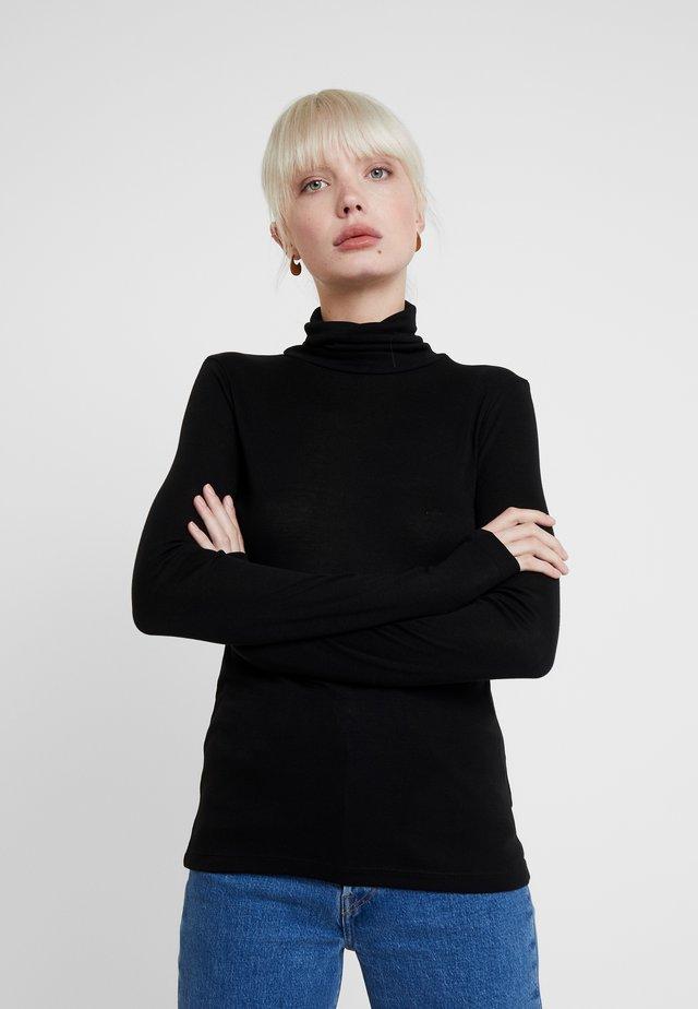 INA - Bluzka z długim rękawem - black