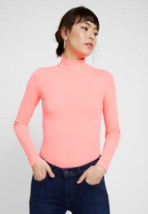 VIKKI - Long sleeved top - neon pink