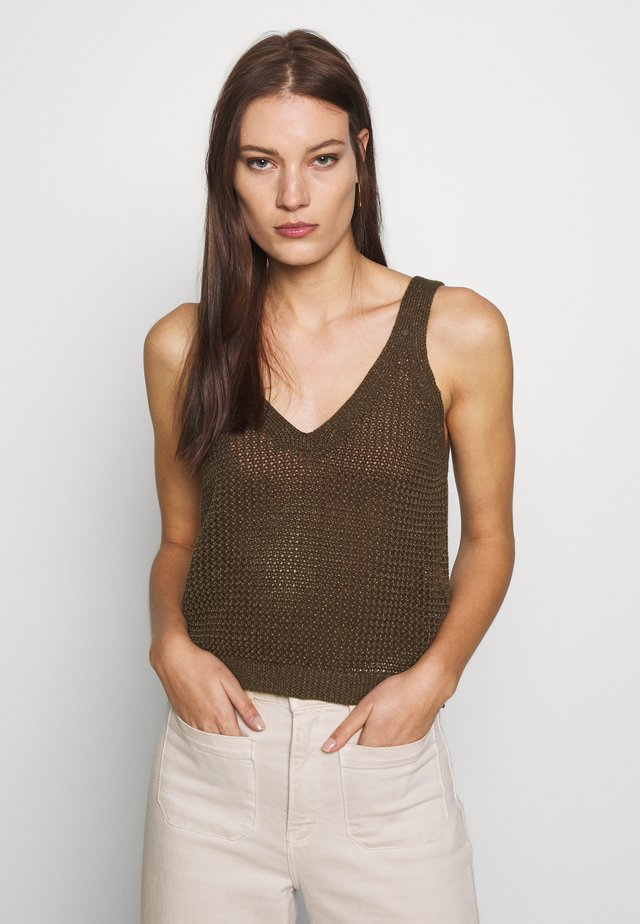 KRISTA - Top - military olive