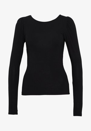 KATHLIN - Camiseta de manga larga - black