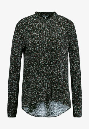 NIKOLINA - Button-down blouse - black