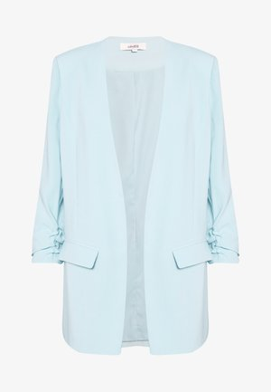 WERONKA - Short coat - light blue