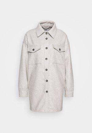 GAVIN - Krótki płaszcz - grey/white