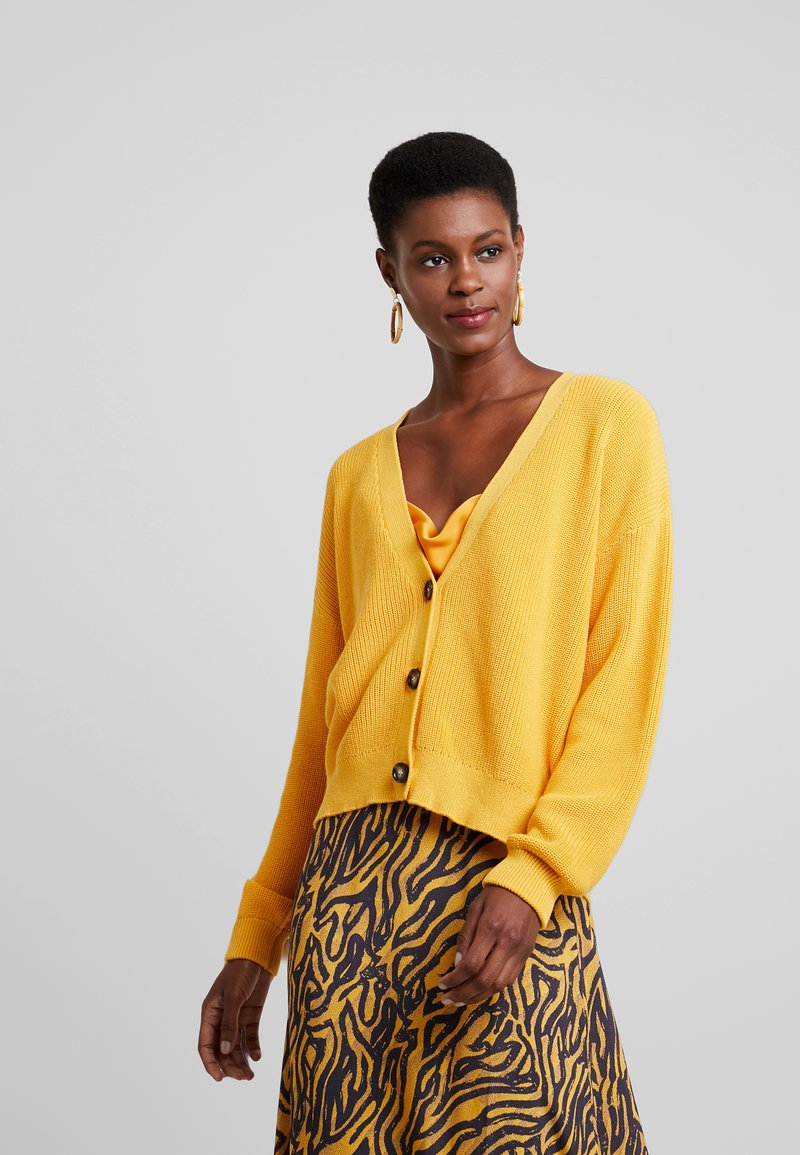 mbyM - JANISE - Cardigan - yolk yellow