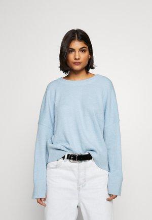 GILLIAN - Sweter - dream blue melange