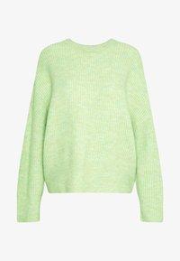 mbyM - GILLIAN - Sweter - patina green melange - 3