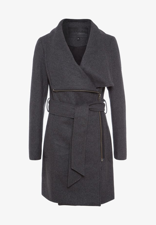 MIKA - Zimní kabát - charcoal