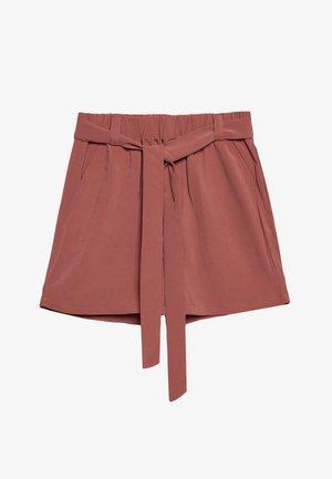 JUANITA GILROY - Shorts - dusty cedar