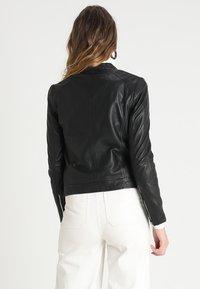 mbyM - VESLA EWA - Leather jacket - black - 2