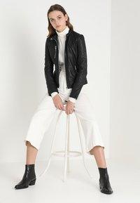 mbyM - VESLA EWA - Leather jacket - black - 1