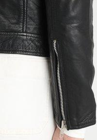 mbyM - VESLA EWA - Leather jacket - black - 4