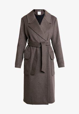 TOBY - Zimní kabát - grey brown melange