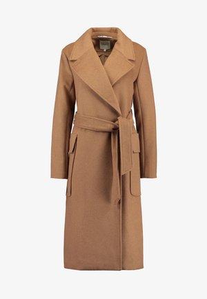 TOBY - Classic coat - chipmunk brown melange