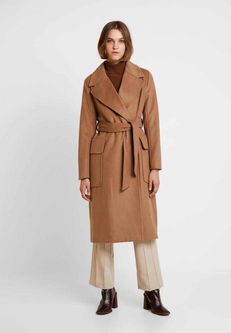 mbyM - TOBY - Classic coat - chipmunk brown melange