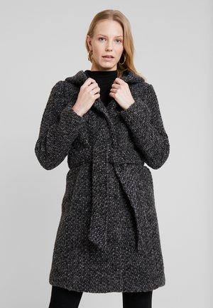 HETTA - Zimní kabát - charcoal melange