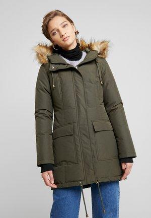 ESTINNA - Down coat - olive green