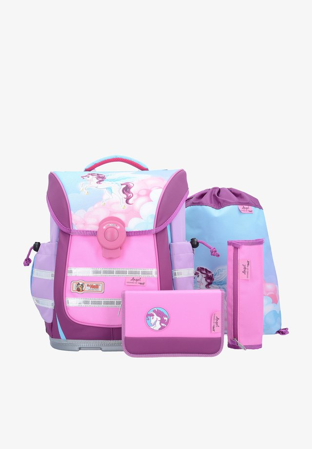 SET 4TLG. - School set - pink