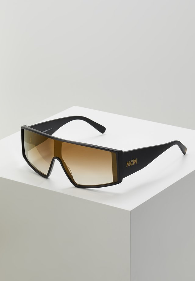 Sunglasses - matte black/gold
