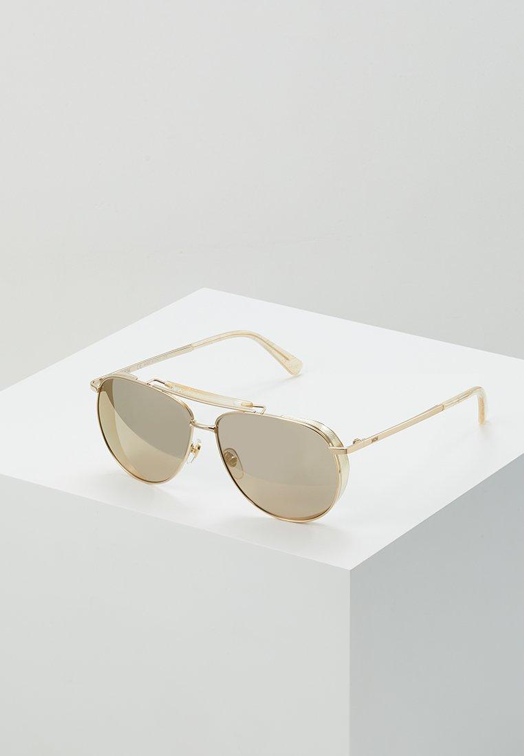 MCM - Occhiali da sole - shiny gold-coloured