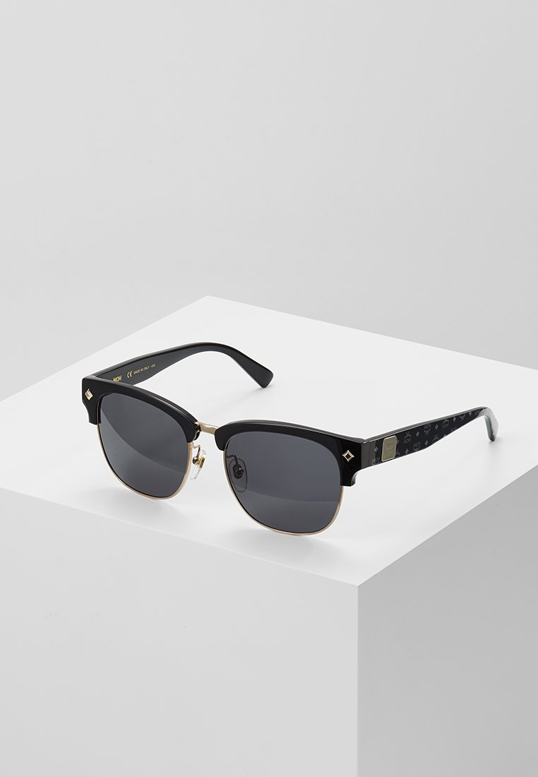 MCM - Sunglasses - black/black visetos