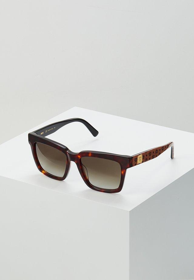 Aurinkolasit - tortoise/cognac visetos