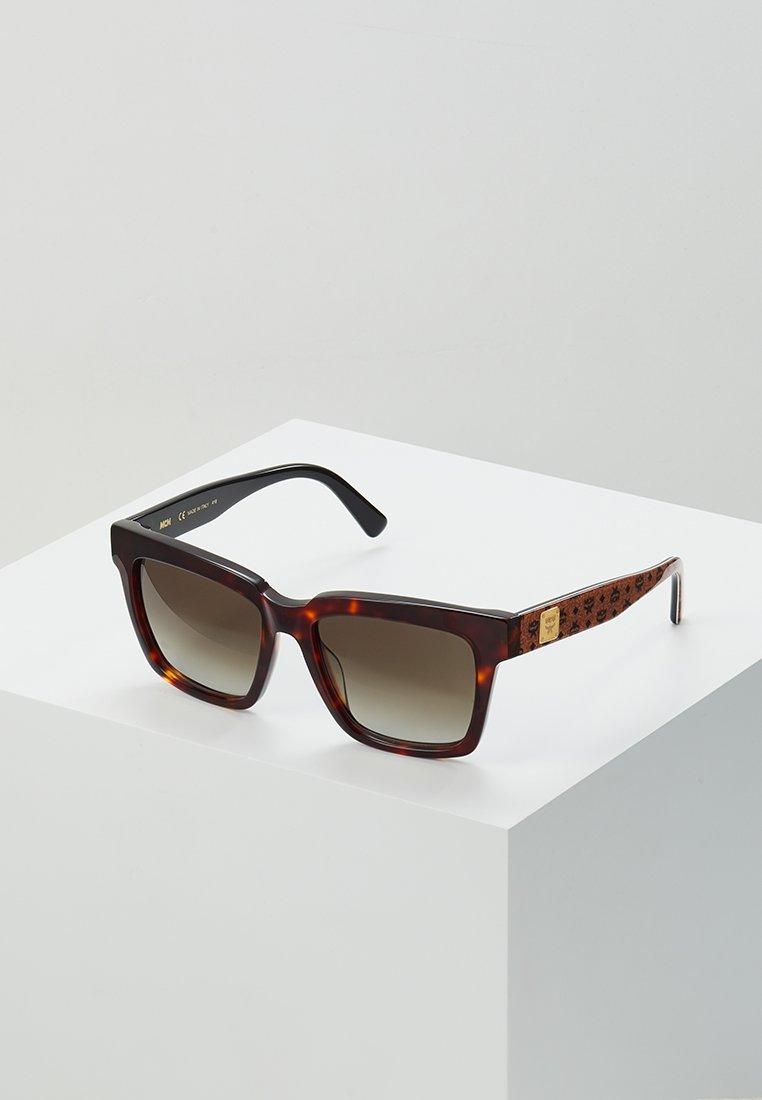 MCM - Gafas de sol - tortoise/cognac visetos