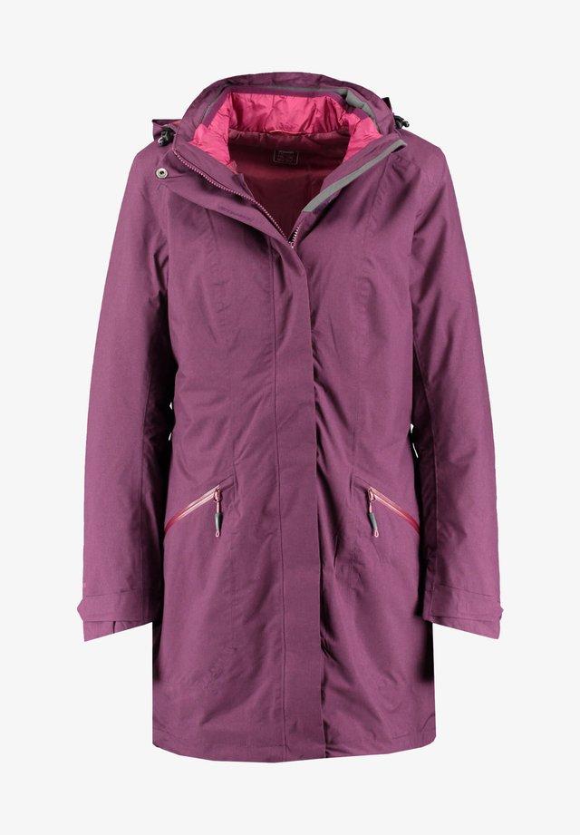 3-IN-1 - Winter jacket - aubergine