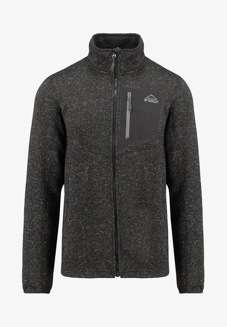 McKinley - HERREN - Fleece jacket - mottled anthracite
