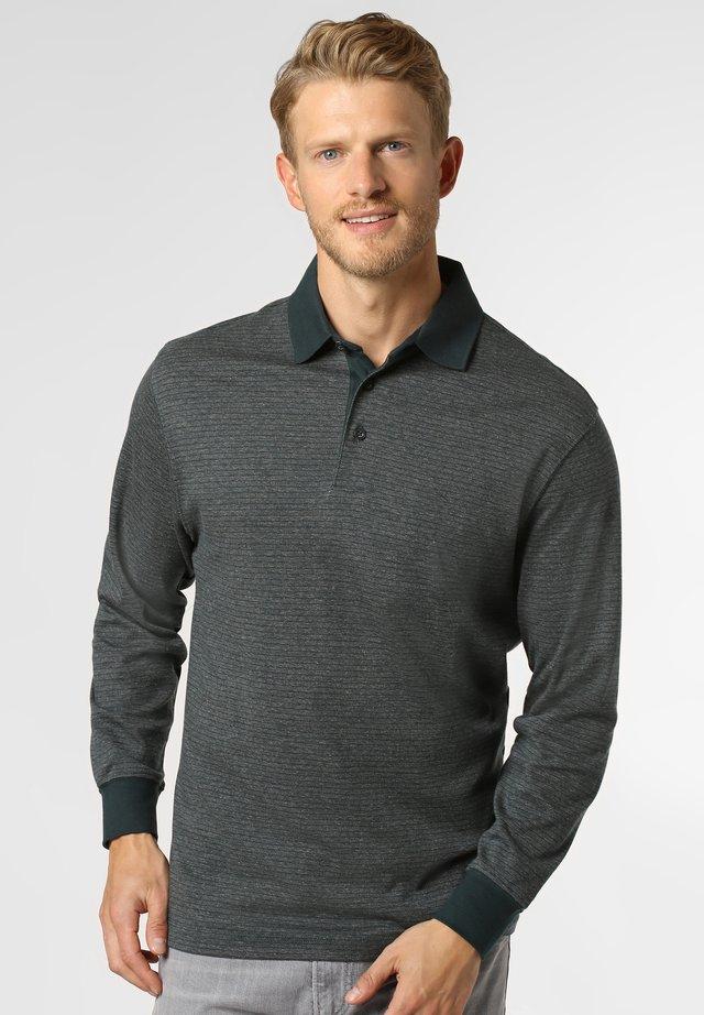 Polo shirt - blue-grey