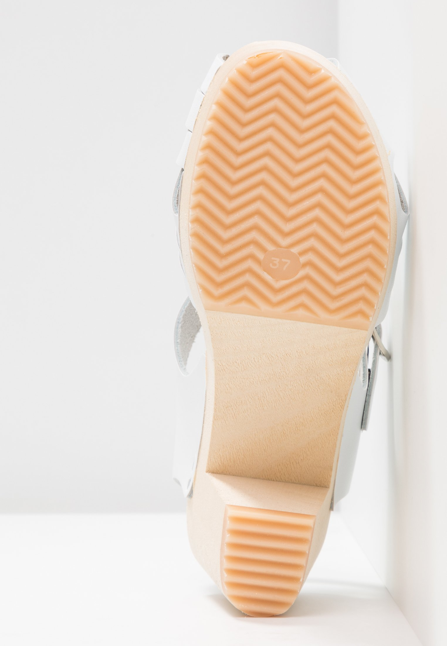 Moheda Toffeln Topzy - Sabots White/natural