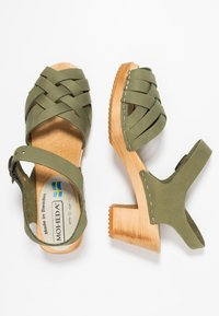 Moheda Toffeln - BETTY - Clogs - bamboo - 3