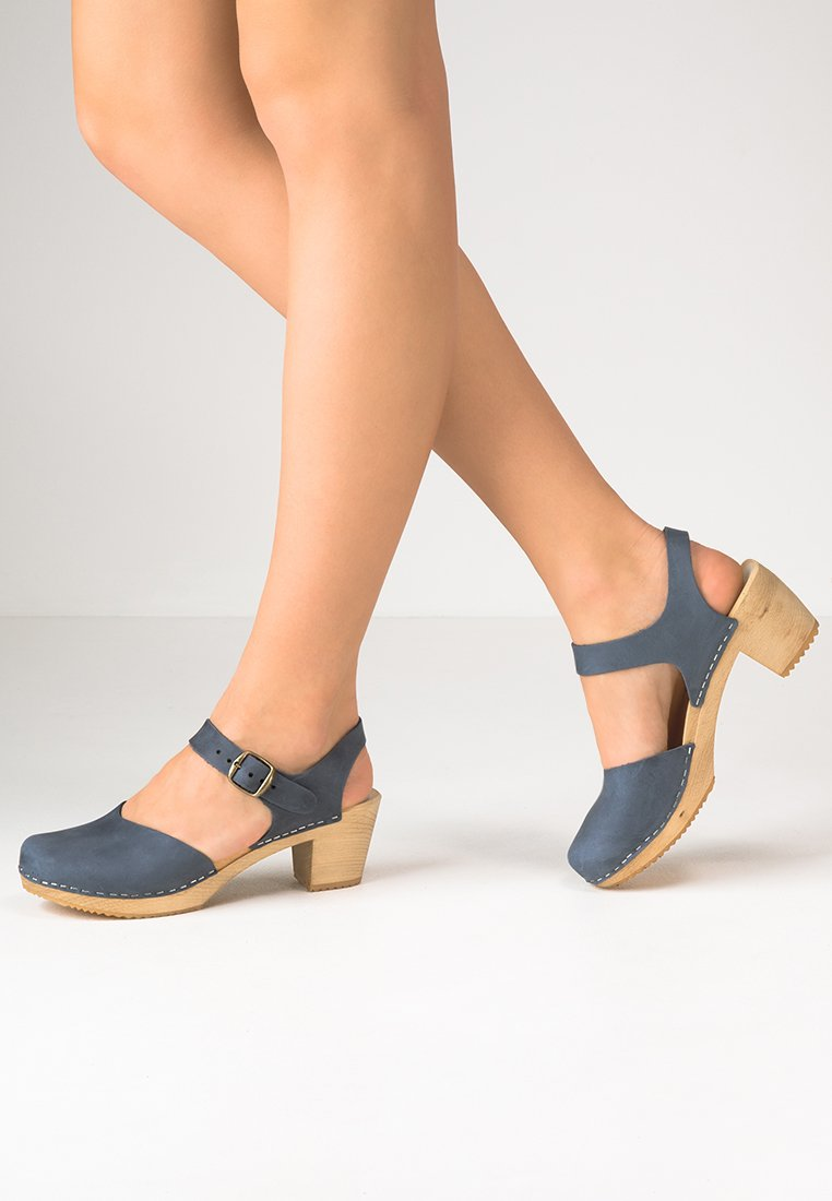 Moheda Toffeln - DOLLY - Clogs - navy