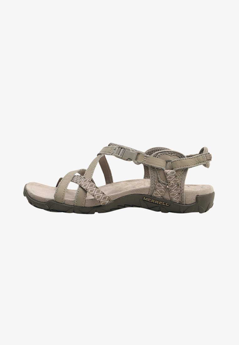 Merrell - TERRAN LATTICE II - Walking sandals - taupe