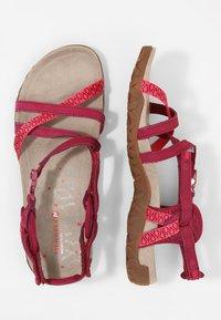 Merrell - TERRAN LATTICE II - Walking sandals - fuchsia - 1