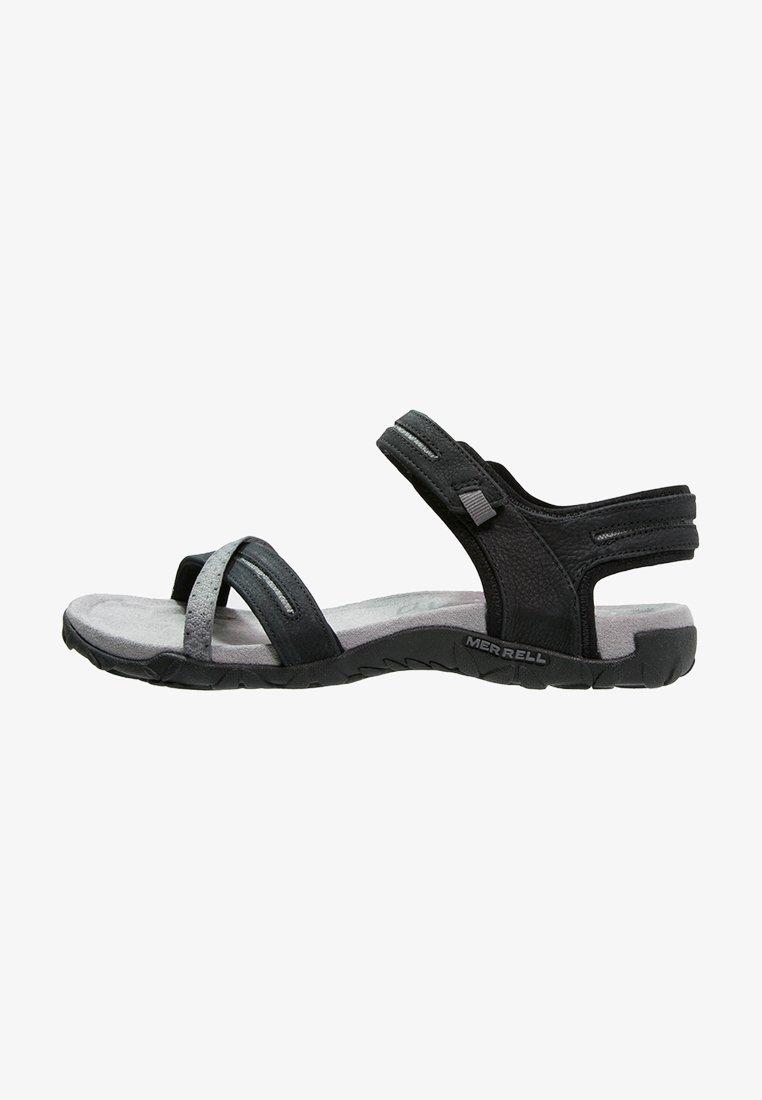 Merrell - TERRAN CROSS II - Walking sandals - black