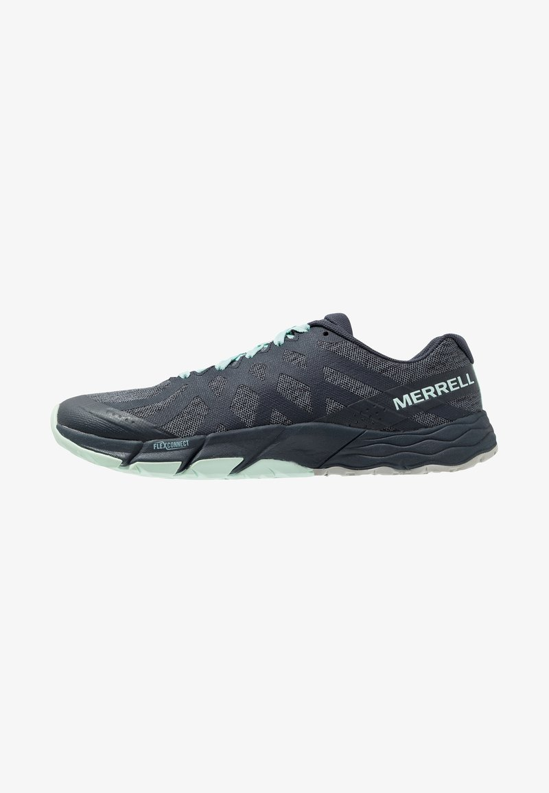 Merrell - BARE ACCESS FLEX 2 - Minimalist running shoes - navy