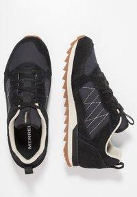 Merrell - ALPINE - Hiking shoes - black - 1