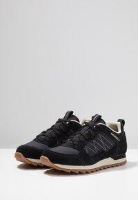 Merrell - ALPINE - Hiking shoes - black - 2