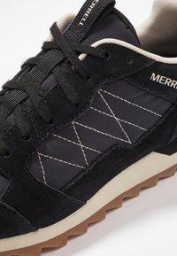 Merrell - ALPINE - Hiking shoes - black - 5