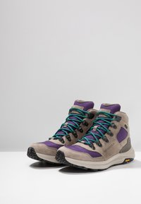 Merrell - ONTARIO 85 MID WP - Hiking shoes - acai - 2