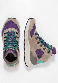 Merrell - ONTARIO 85 MID WP - Chaussures de marche - acai - 1